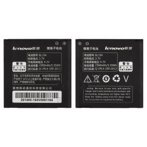 Аккумулятор для Lenovo A288T, A298T, A520, A530, A660, A690, A698T (BL194) 1500mAh