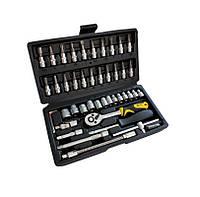 Набор инструментов Сталь 46 единиц (70014)