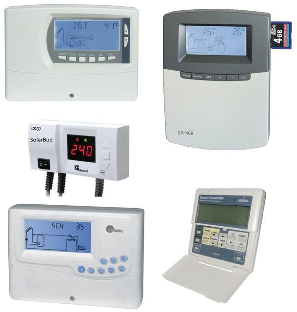 Контролери сонячних колекторів та опалення
