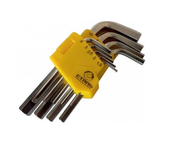 Набор шестигранных ключей Сталь HEX, фото 2