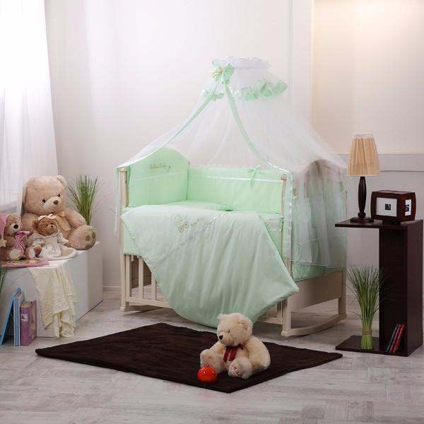 Комплект Golden Baby зеленый 7 пр