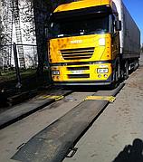 Автомобильные весы поосевого взвешивания АКСИС15-П-Д