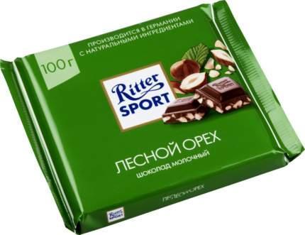 Шоколад молочный Ritter SPORT Лесной орех 100г. Германия