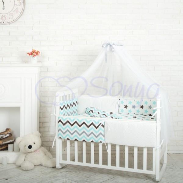 Комплект Comfort Пряники голубые