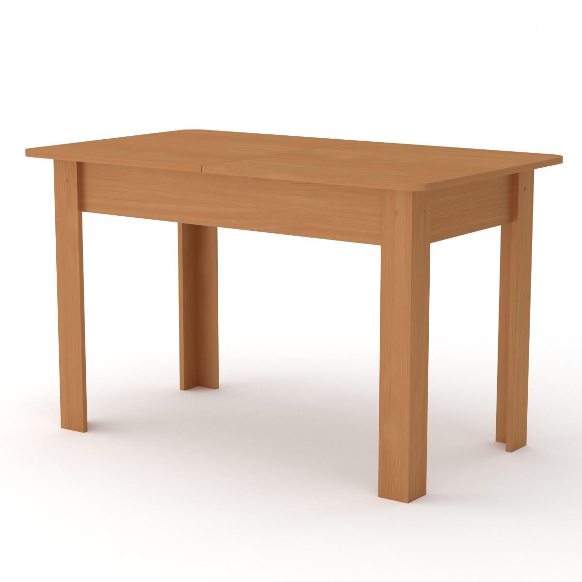 Стол кухонный КС-5 бук Компанит (120х70х74 см)