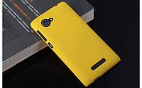 Пластиковый чехол для Lenovo A880 желтый, фото 1