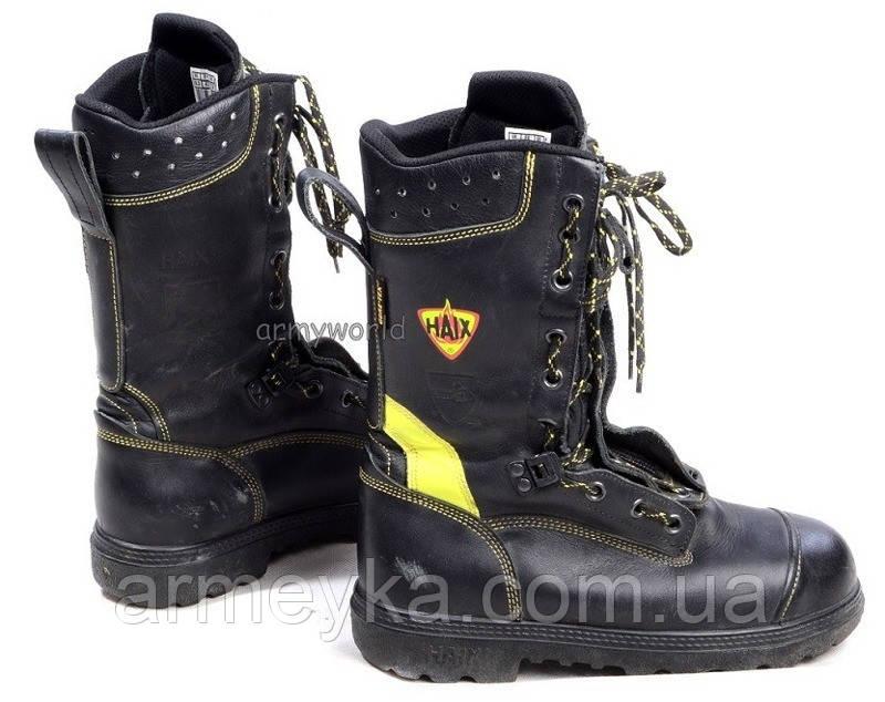 Огнестойкие кожаные пожарные ботинкиHAIX ® Gore-tex Fire Flash Gamma  Bundeswehr Original Demobil 0c14131041262
