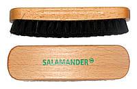 Щетка из натурального ворса Черная для одежды и обуви Salamander