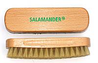 Щетка из натурального ворса Белая для одежды и обуви Salamander