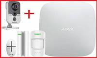 Комплект беспроводной сигнализации Ajax StarterKit Original + IP камера  Hikvision DS-2CD2420F-IW, фото 1
