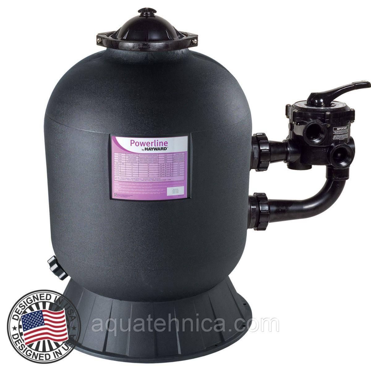 Фильтр песочный для бассейна Hayward PowerLine 81113 D511мм, 10м3\ч, боковое подключение