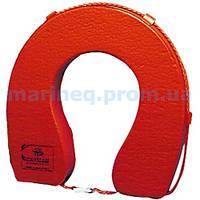Круг-подкова, спасательный, оранжевый
