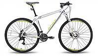 """Велосипед 26'' PRIDE XC-26 MD рама - 15"""" бело-зеленый матовый 2015"""