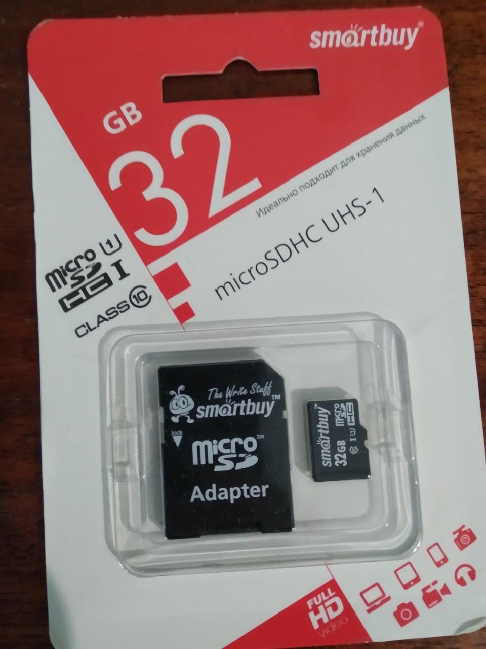 Карта пам'яті MicroSD TG 32 Gb (Class 10)