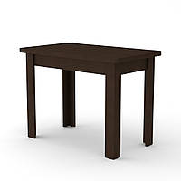 Стол кухонный КС-6 венге темный Компанит (100х60х74 см), фото 1