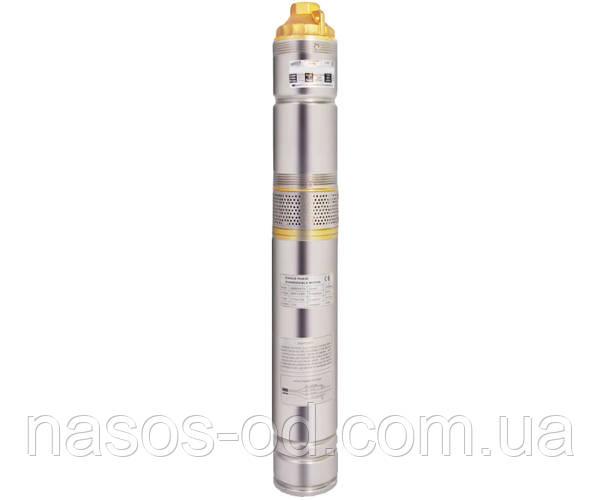 Насос шнековый глубинный Euroaqua EUJ 2.5-60-0.75 для скважин 0.75кВт Hmax128м Qmax40л/мин Ø100мм (+ блок)