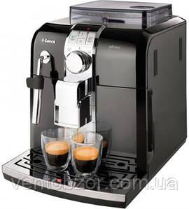 Кофемашина автоматическая Saeco Syntia Focus black HD8833