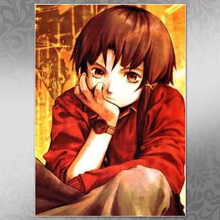 Плакат Аниме Serial Experiments Lain 01