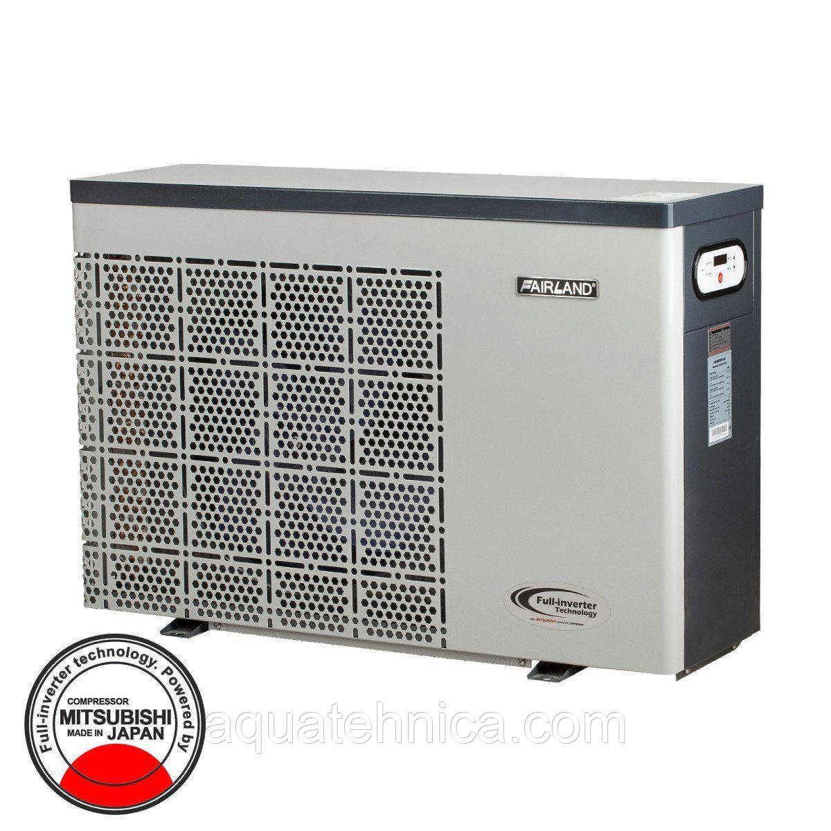 Тепловой инверторный насос для бассейна Fairland IPHC25 (тепло/холод, 10.0кВт)