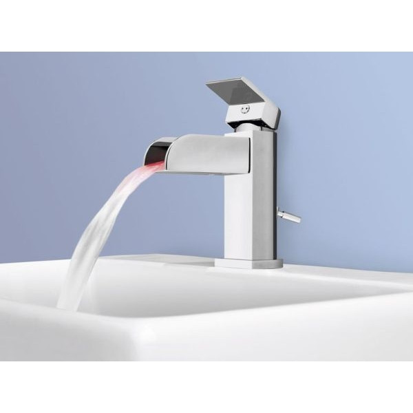 Светодиодный смеситель для умывальника Miomare LED-Armatur