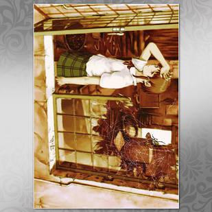 Плакат Аниме Serial Experiments Lain 02