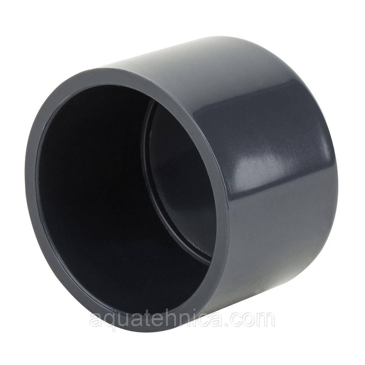 Заглушка для пластикової труби ПВХ Era D75мм клейова