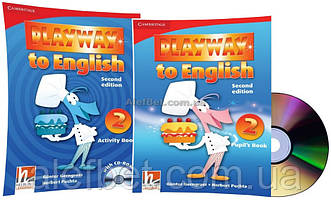 Английский язык / Playway to English / Pupil's+Activity Book+CD. Учебник+Тетрадь (комплект), 2 / Cambridge
