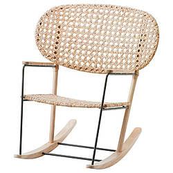 IKEA GRONADAL (903.200.97) Качающийся стул, серый, натуральный