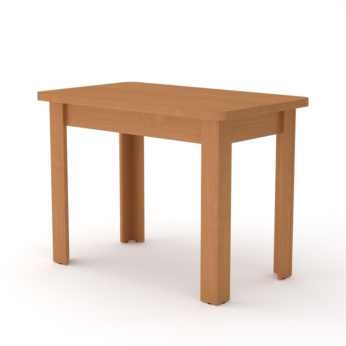Стол кухонный КС-6 ольха Компанит (100х60х74 см)