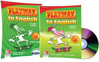 Английский язык / Playway to English / Pupil's+Activity Book+CD. Учебник+Тетрадь (комплект), 3 / Cambridge