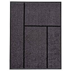 IKEA KOGE (302.879.39) Придверный коврик, серый, черный