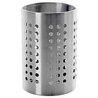 IKEA ORDNING (301.317.16) Контейнер для посуды из нержавеющей стали