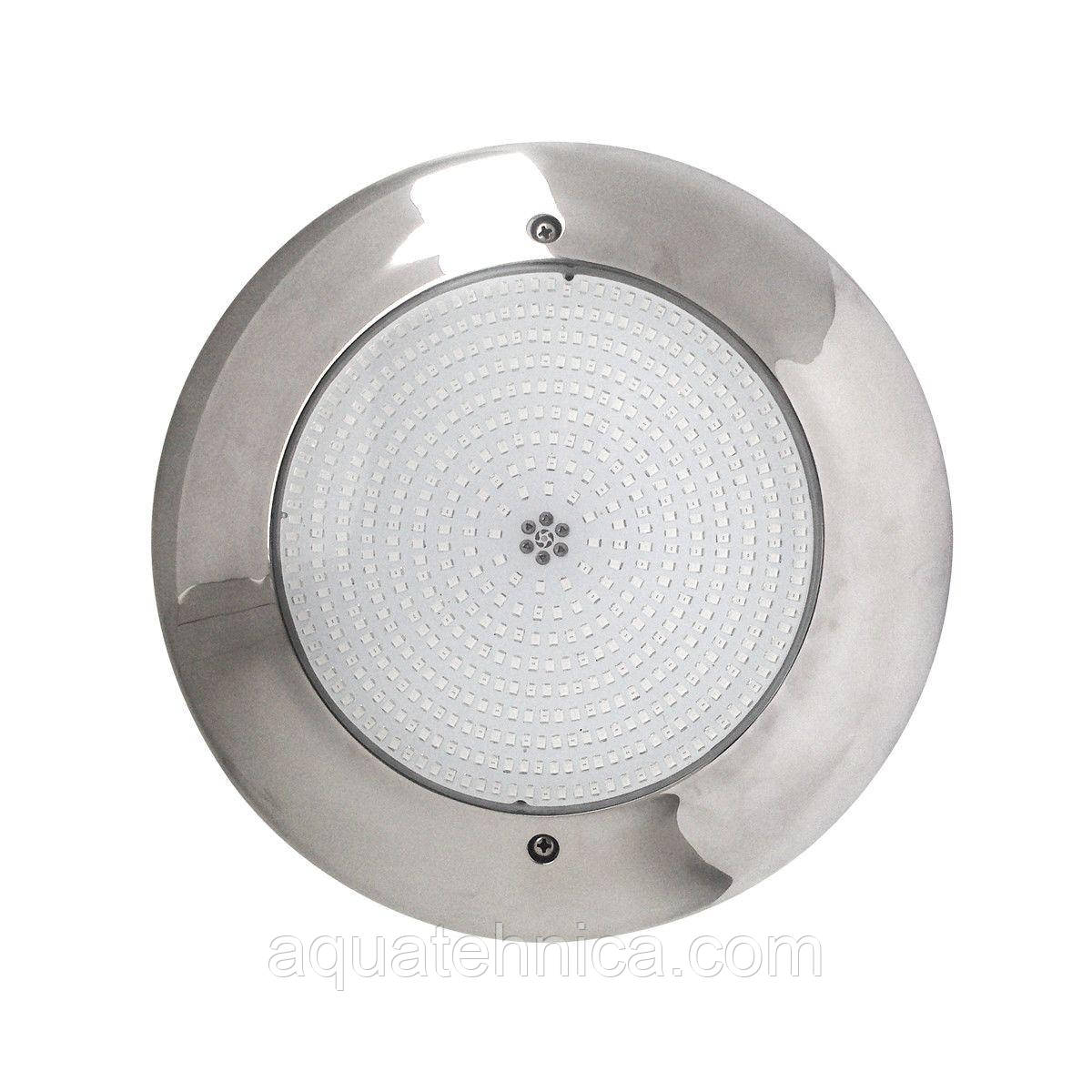 Прожектор для бассейна светодиодный Aquaviva HT201S 546LED  (33 Вт) RGB стальной