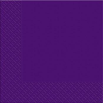Салфетки фиолетовые 33х33см Марго 50шт 2 слойные