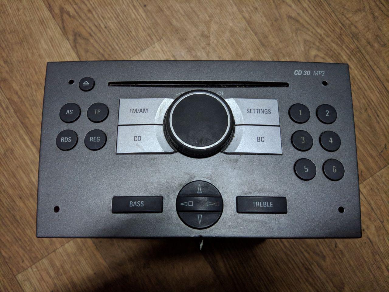 Магнітофон під AUX Opel Vivaro 2006-2014, CD-30 453116246 (Б/У)