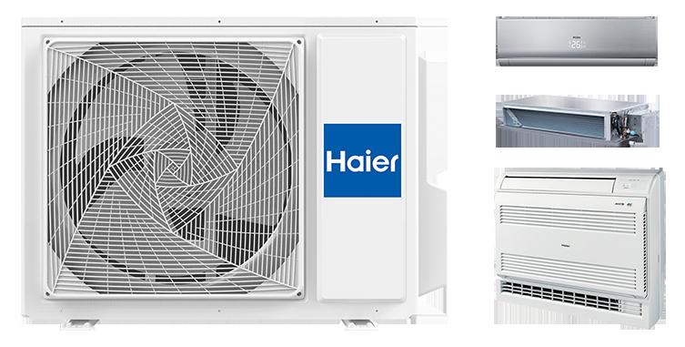Наружный блок HAIER Outdoor Unit 3U19FS3ERA(S) Invertor (мульти-сплит система)