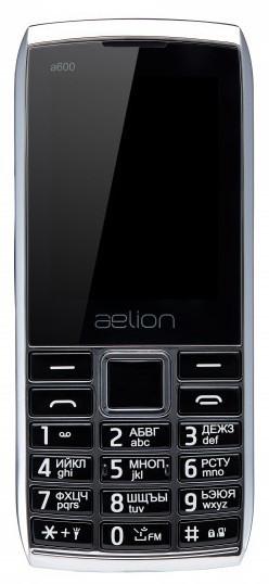 Телефон AELion A600 Metal/Black Гарантия 12 месяцев
