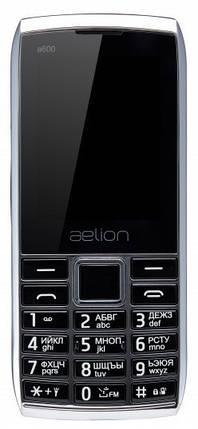 Телефон AELion A600 Metal/Black Гарантия 12 месяцев, фото 2