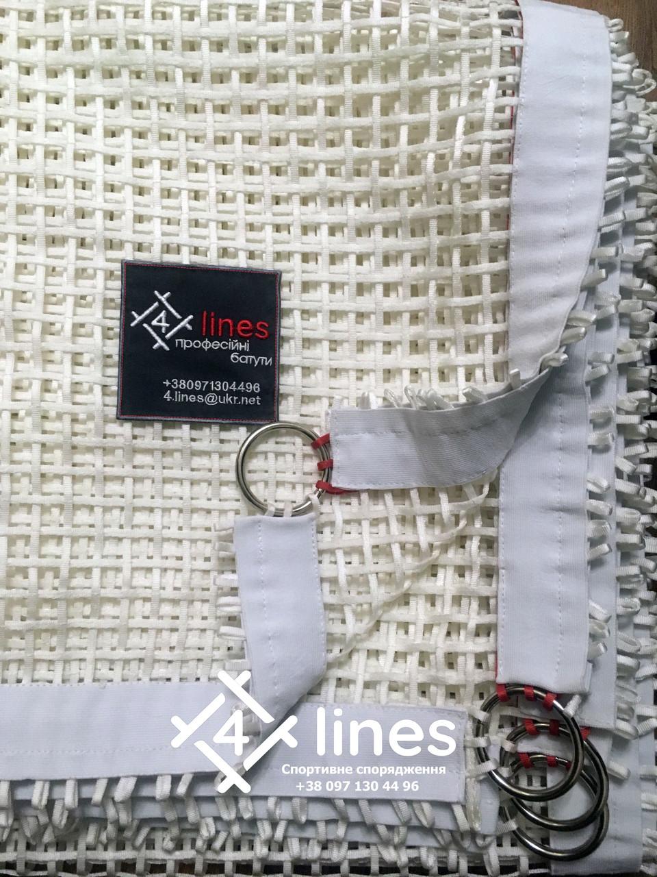 Тренировочная батутная сетка 4 Lines Евростандарт 2,13м х 4,26м (+/-60мм)