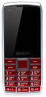 Телефон AELion A600 Metal/Red Гарантия 12 месяцев