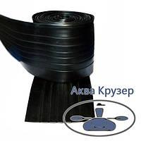 Днищевой защитный брус пвх 120 мм, черный для надувных лодок