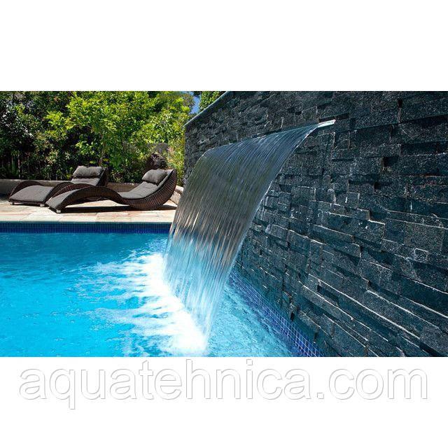 Водопад для бассейна Emaux PB 300-25LED стеновой с подсветкой