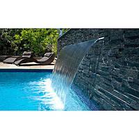 Водопад для бассейна Emaux PB 300-25LED стеновой с подсветкой, фото 1