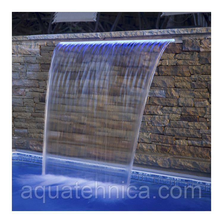 Водопад для бассейна Emaux PB 900-25LED стеновой с подсветкой