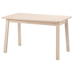 IKEA NORRAKER (304.289.82) Стол, НОРРЕКЕР Стол, береза, 125x74 см