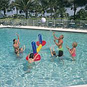 Надувной волейбольный комплект для любых типов бассейнов Bestway 52133, размеры 244х64см