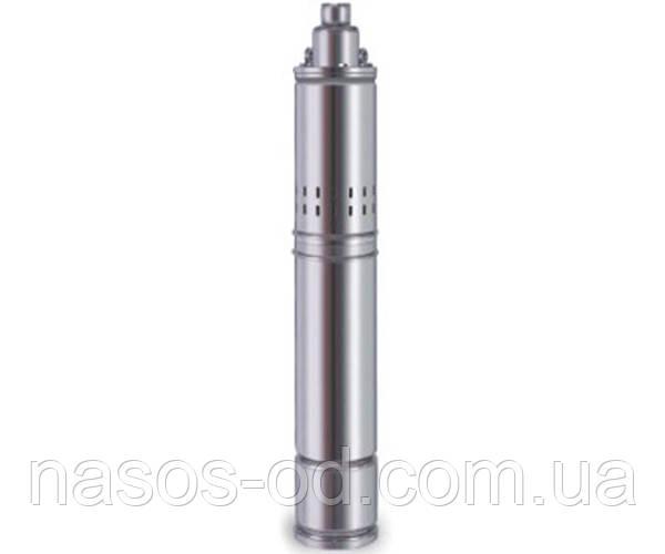 Насос шнековый глубинный Delta 4QGD 2.5-100 для скважин 0.75кВт Hmax136м Qmax30л/мин Ø100мм (кабель 10м)