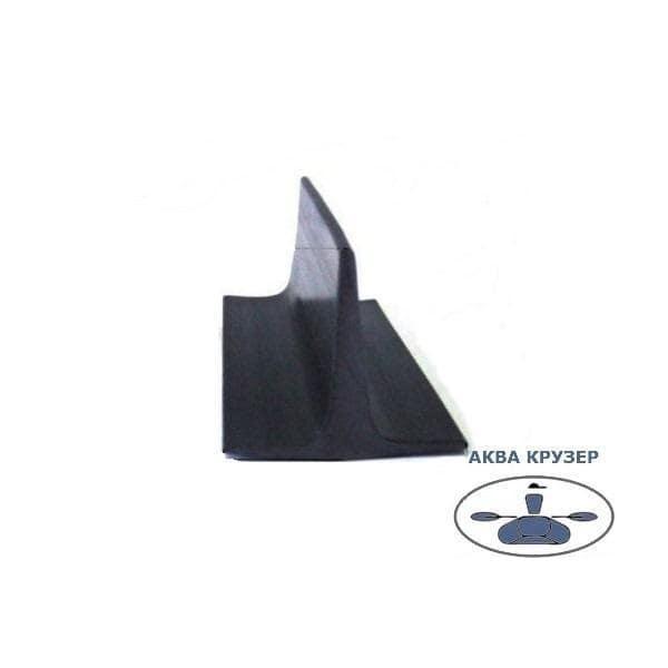 Т-подібний профіль пвх для тюнінга - колір чорний