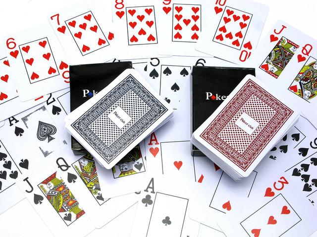 """Пластиковые карты для покера """"Poker club"""""""