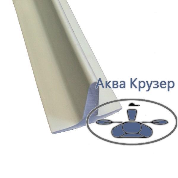 Т образный профиль пвх - курсовой стабилизатор, цвет серый